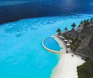 belleza, isla, and Maldives image