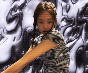 cyber, jennie, and aesthetic image