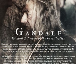 fantasy, ian mckellen, and gandalf the gray image