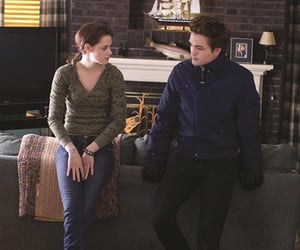 twilight, bella and edward, and breaking dawn image