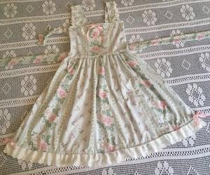 aesthetic, vintage, and vintage dress image