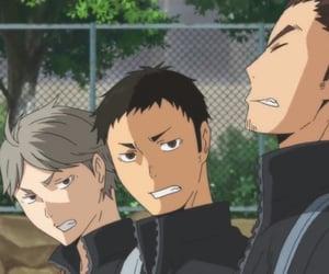 anime, asahi, and haikyuu!! image