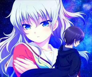 anime, couple, and charlotte image