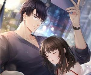 anime, couple, and victor image