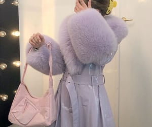 haute couture, bag, and pink image