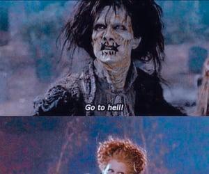 hocus pocus, hell, and movie image