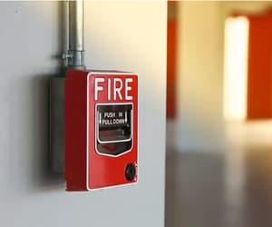 fire alarm system, fire alarm system design, and keyscan access control image