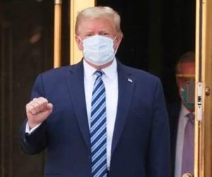 news, donald trump, and superhero image