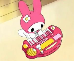 hello kitty, my melody, and sanrio image