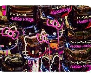 balloons, HelloKitty, and mac image