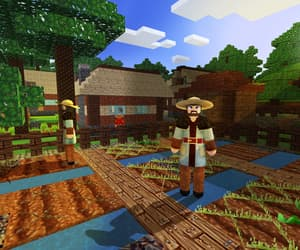 games, survival & craft, and pixel art image