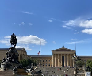 museum, rocky steps, and pennsylvania image
