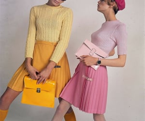 1960's and 1960's fashion image