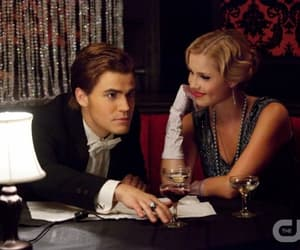 paul wesley and claire holt image