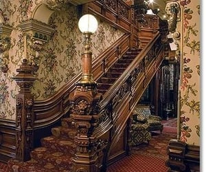 house, pinterest, and staircase image