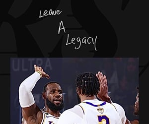 LeBron James, los angeles lakers, and lockscreens image
