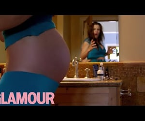 glamour, pregnant belly, and baby belly image