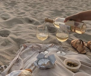 summer, beach, and picnic image