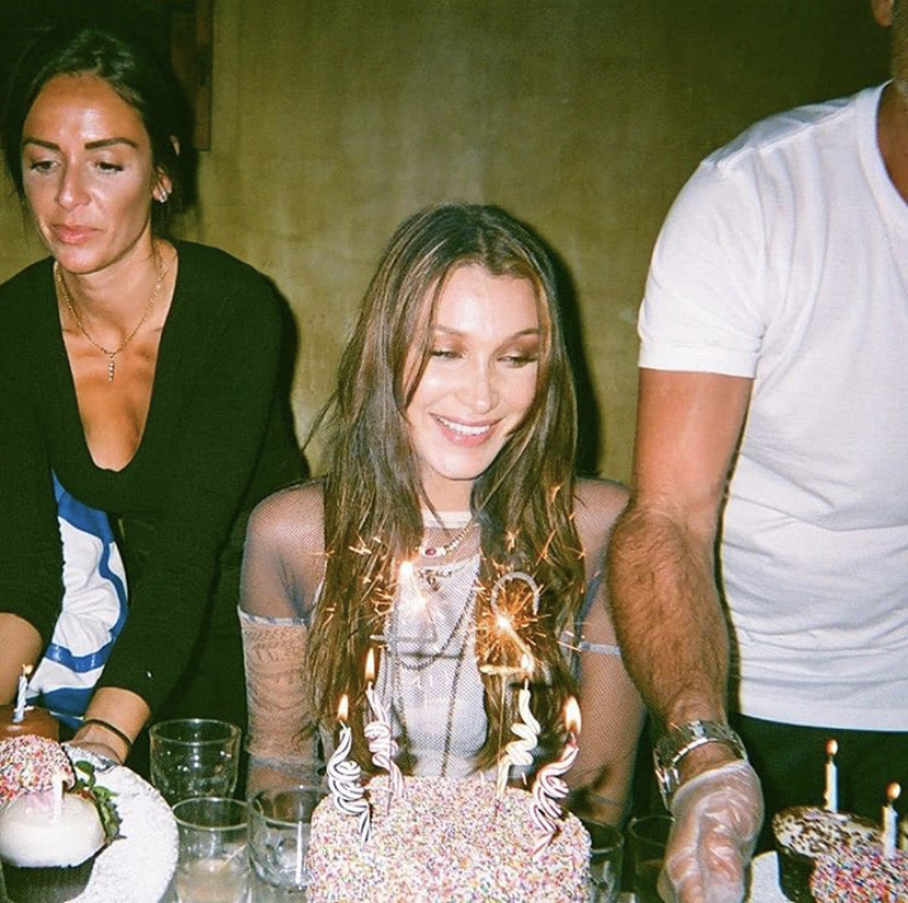 bella, model, and birthday image