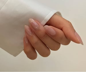 nails, aesthetic, and white image