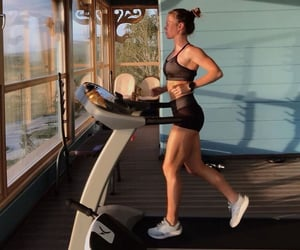 healthy, exercise, and gym image