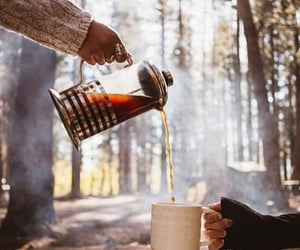 coffee, autumn, and tea image