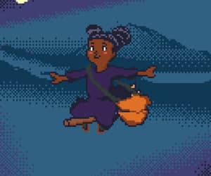 black, girl, and Halloween image