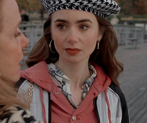 icon, lily collins, and emily in paris image