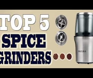spice grinder, coffee bean grinder, and best coffee grinder image