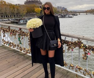fashion, luxury, and paris image