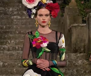 Couture, gif, and model image
