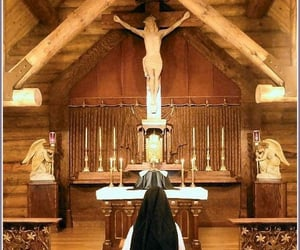 altar, prayer, and katholisch image