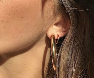 earring, glam, and luxury image