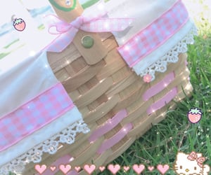 kawaii, picnic, and pink image