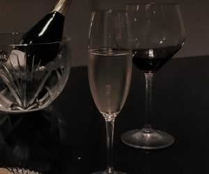 wine, aesthetic, and champagne image