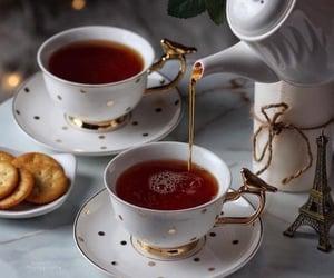 tea, Cookies, and teapot image