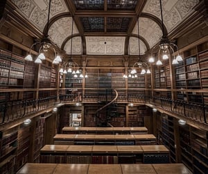 library, peace, and quiet image