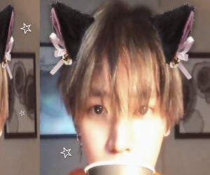catboy, taeyong, and nct image