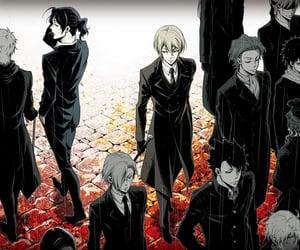 anime boy, anime, and yuukoku no moriarty image