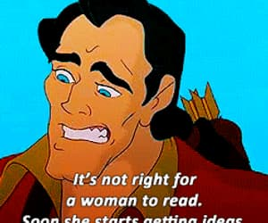 beauty and the beast, gif, and disney image