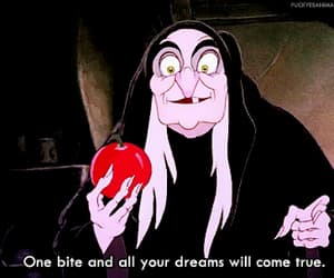disney, gif, and evil queen image