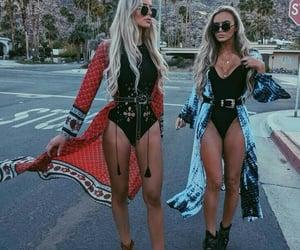 festival, coachella, and fashion image