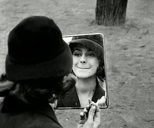 hats, mirror, and old fashion image