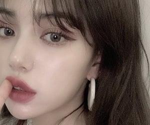 asian girl, beautiful, and face image