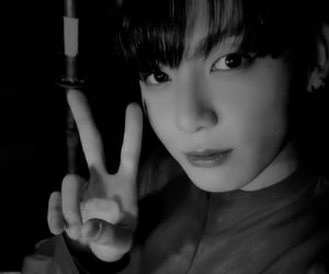 jeon jungkook, bts dark, and bts theme image