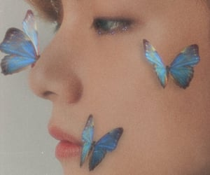 butterfly, bts, and aesthetic image
