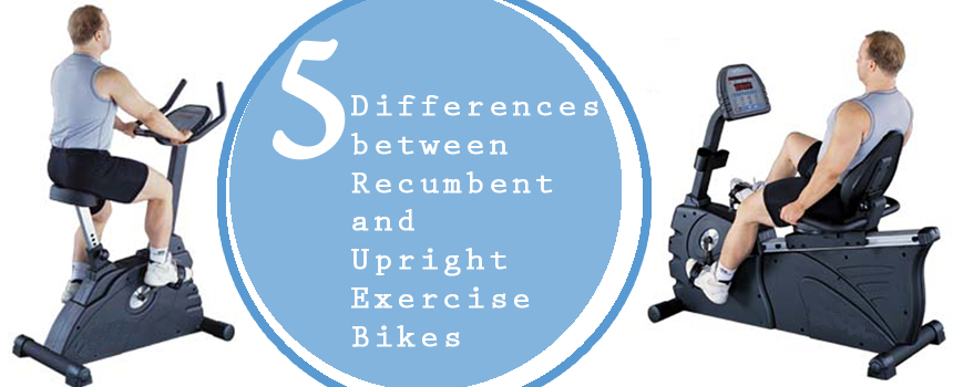 article and upright exercise bike image