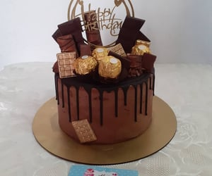 cake, chocolat, and dessert image