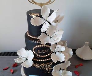 black, Blanc, and cake image