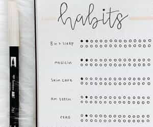 bullet, caderno, and calendario image